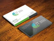 Graphic Design Konkurrenceindlæg #89 for Design some Business Cards for IT Zen
