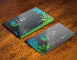 gohardecent tarafından Design some Business Cards for IT Zen için no 118