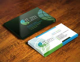 #115 for Design some Business Cards for IT Zen by IllusionG