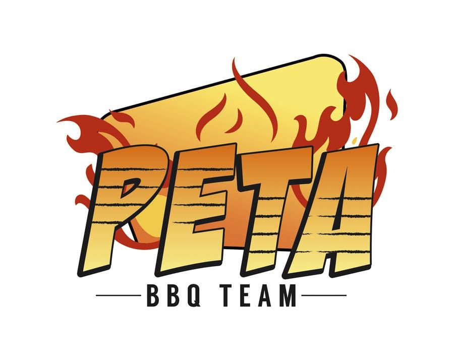 Kilpailutyö #19 kilpailussa Design a Logo for BBQ Team