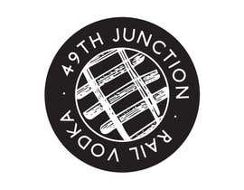 "#18 untuk Design a Logo for ""49th Junction"" Premium Rail Vodka oleh julabrand"