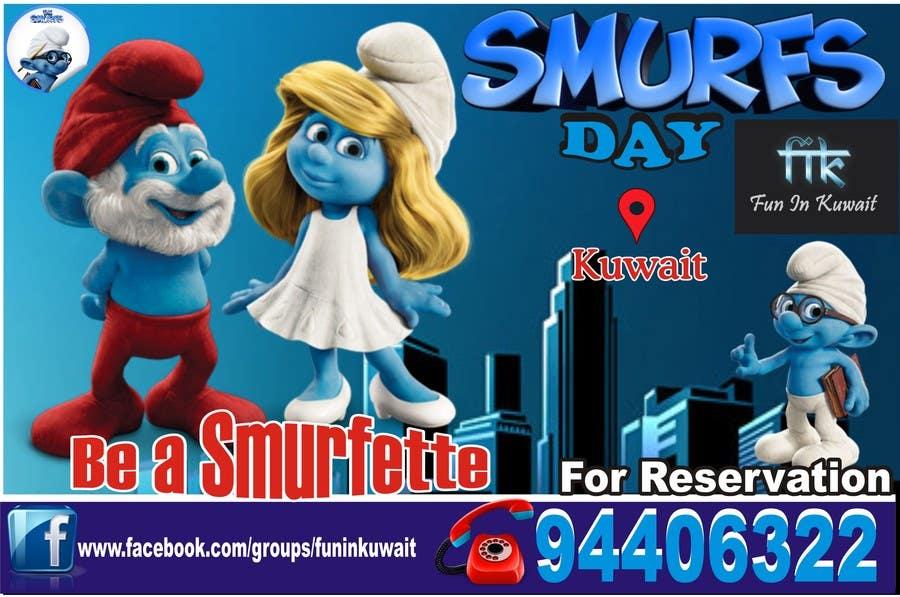 Konkurrenceindlæg #                                        9                                      for                                         Design a Banner for an Smurf Event