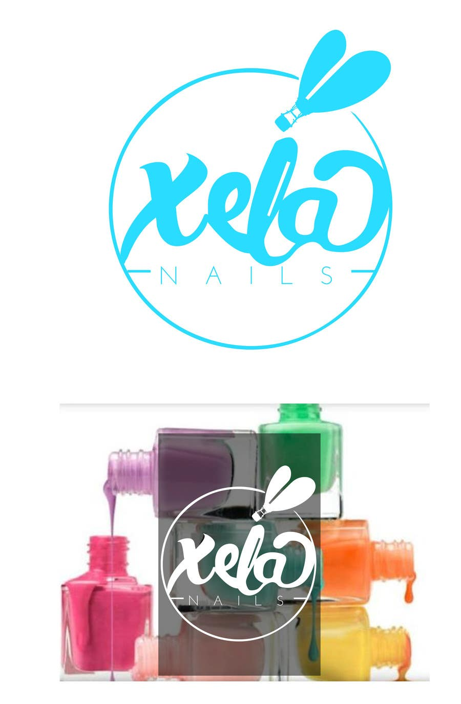 Konkurrenceindlæg #                                        33                                      for                                         Design a Logo for xela nails