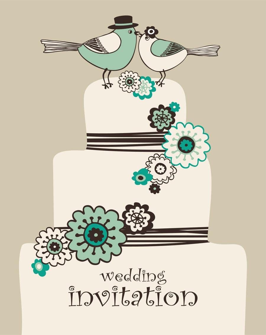 Konkurrenceindlæg #                                        10                                      for                                         Wedding Invitation design needed
