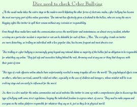 #4 for Cyberbullying Essay by harsha442