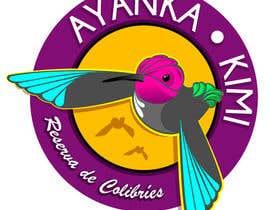 """Nro 53 kilpailuun Diseñar un logotipo para una reserva de Colibríes llamada """"Reserva de Colibríes Ayanka Kimi"""" käyttäjältä Aleixandre"""