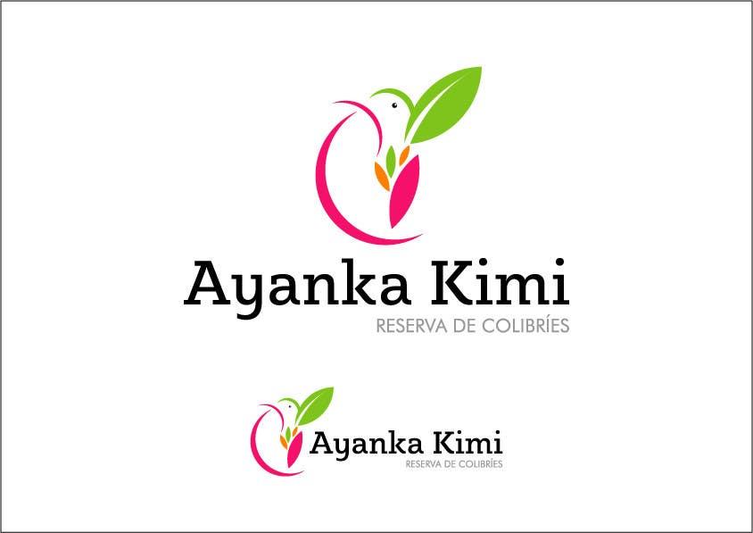 "Bài tham dự cuộc thi #29 cho Diseñar un logotipo para una reserva de Colibríes llamada ""Reserva de Colibríes Ayanka Kimi"""