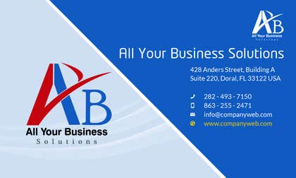 #18 for Design a Logo for AYB Solutions LLC af malg321