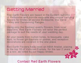 #11 for DL Colour Flyer Design for Wedding Florist af alidicera