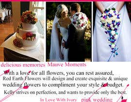 #12 for DL Colour Flyer Design for Wedding Florist by Fidelism