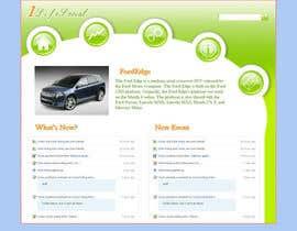 #3 for Design a Website Mockup af zhonggehan