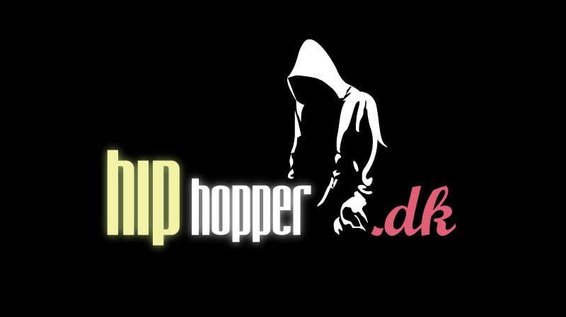 Kilpailutyö #115 kilpailussa Design a Logo for hiphopper