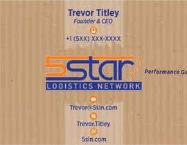#18 untuk Design some Business Cards for 5 Star Logistics Network oleh designart65