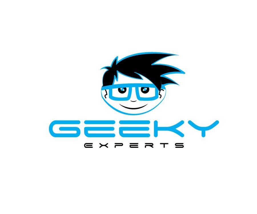 Kilpailutyö #9 kilpailussa Design a Logo for my Profile: GeekyExperts
