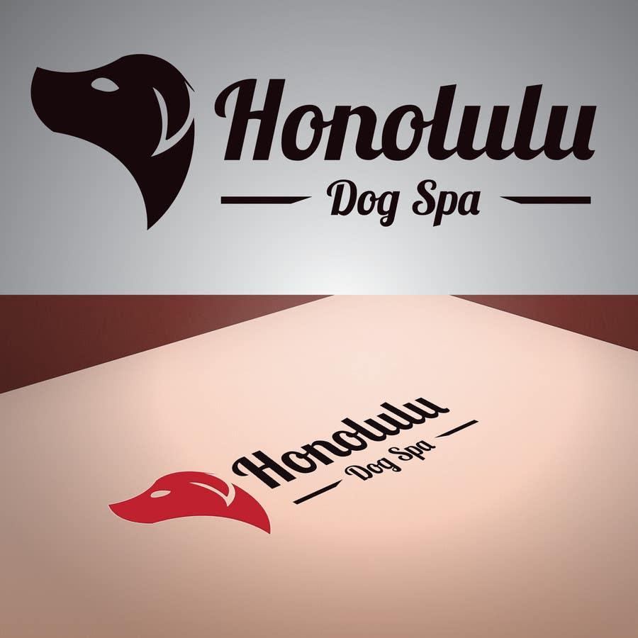 Penyertaan Peraduan #39 untuk Design a Logo for Honolulu Dog Spa