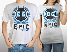 #39 para Design a T-Shirt for Fitness company por EpikArtz