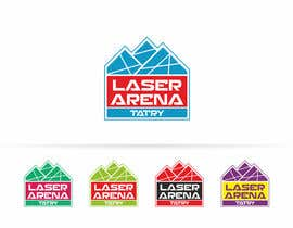 #23 for Design a Logo for Laser Aréna Tatry af AntonMihis