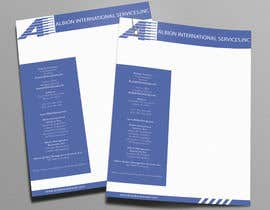 #6 for Design some Stationery for Albion Group of Company af gohardecent