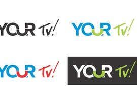 #5 para Design a logo using the word ( YOUR Tv! ) for my  new trivia Networl por screenprintart