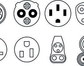 GhaithAlabid tarafından Design some Icons for Electrical Connectors için no 2