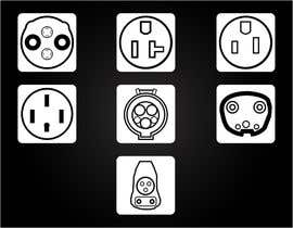 #8 for Design some Icons for Electrical Connectors af muhammadmahmud
