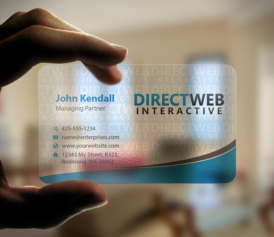Konkurrenceindlæg #                                        94                                      for                                         Design Business Card For Marketing Agency