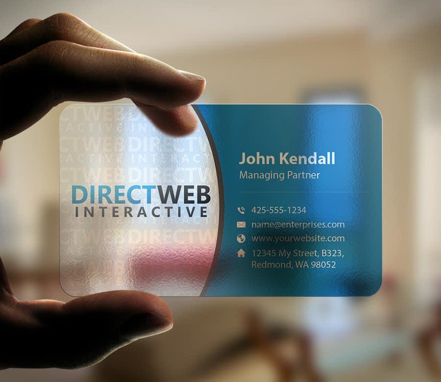 Konkurrenceindlæg #                                        96                                      for                                         Design Business Card For Marketing Agency