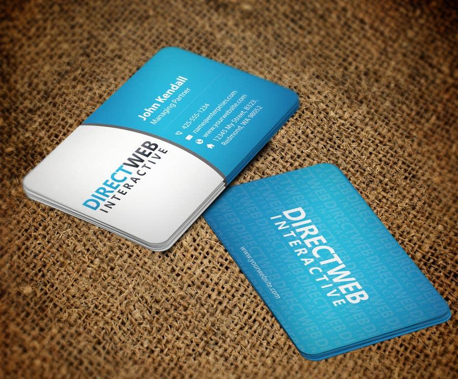 Konkurrenceindlæg #                                        99                                      for                                         Design Business Card For Marketing Agency