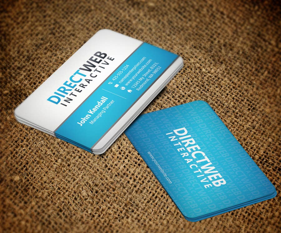 Konkurrenceindlæg #                                        103                                      for                                         Design Business Card For Marketing Agency