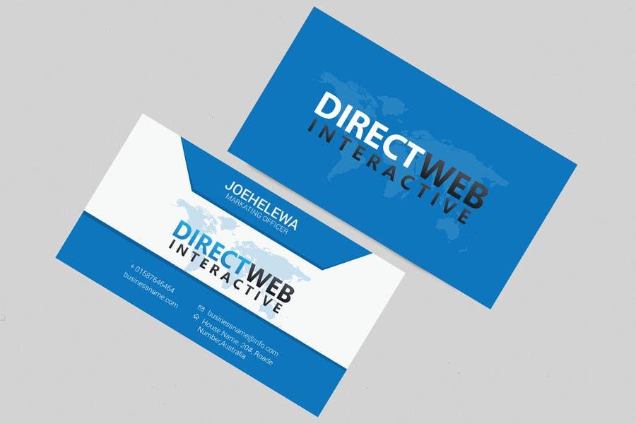 Konkurrenceindlæg #44 for Design Business Card For Marketing Agency