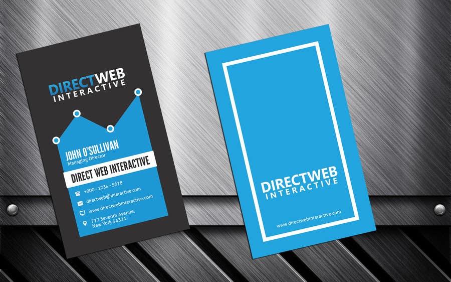 Konkurrenceindlæg #29 for Design Business Card For Marketing Agency