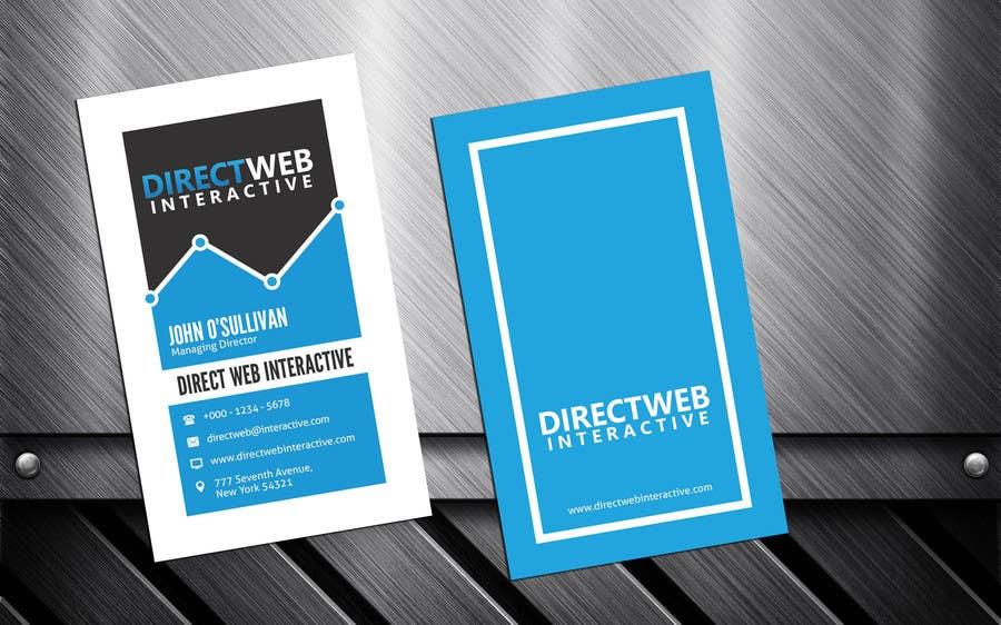 Konkurrenceindlæg #                                        30                                      for                                         Design Business Card For Marketing Agency