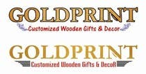 Graphic Design Kilpailutyö #6 kilpailuun Design a Logo for GOLDPRINT