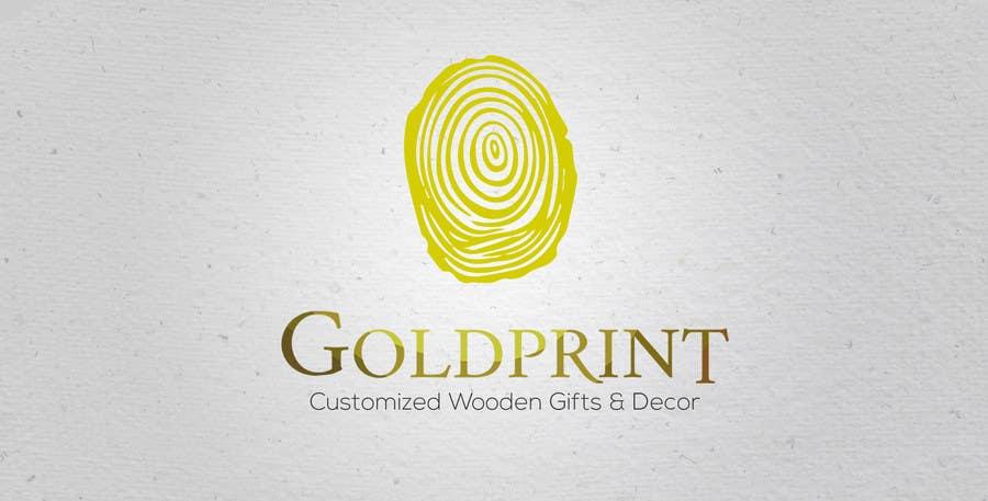 Kilpailutyö #25 kilpailussa Design a Logo for GOLDPRINT