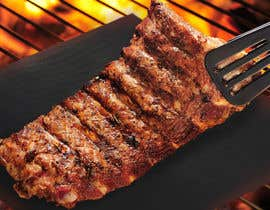 #6 for EASY JOB! Photoshop a bbq mat into a bbq grill picture by annawongsc