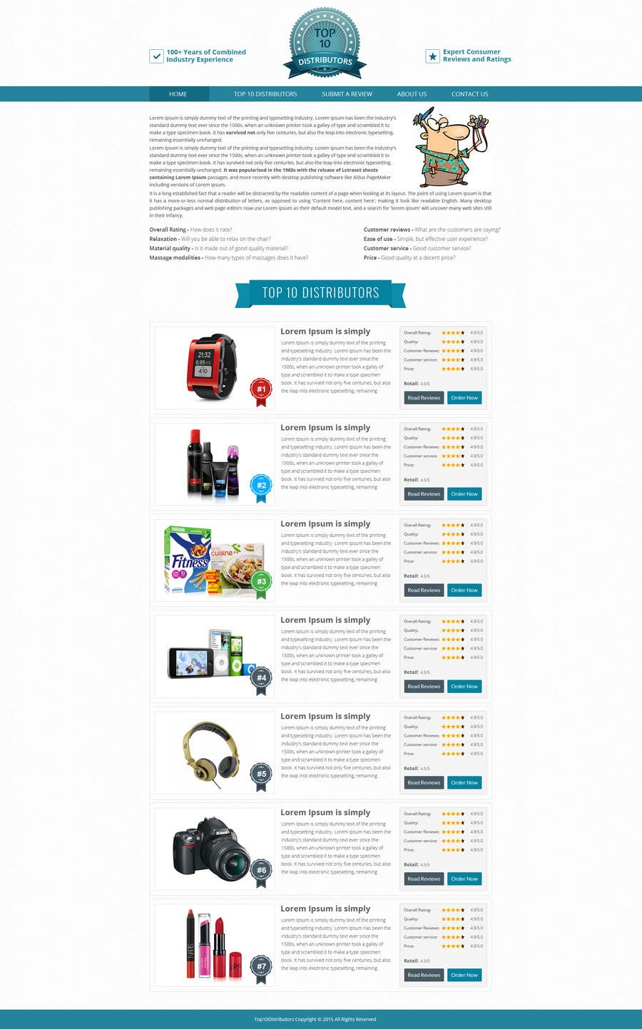 Proposition n°11 du concours BEST HOMEPAGE DESIGNER - 15th Project