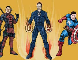 #40 untuk Illustrate Something for Company Team - Super Heroes oleh rafaEL1s