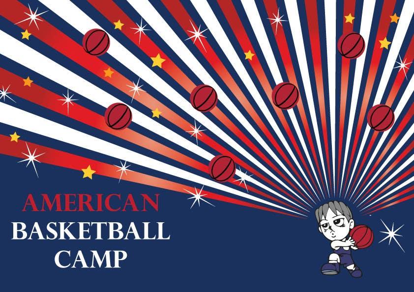 Penyertaan Peraduan #2 untuk Design a Logo for Basketball Camp in Paris, France
