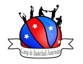Fegarx tarafından Design a Logo for Basketball Camp in Paris, France için no 3
