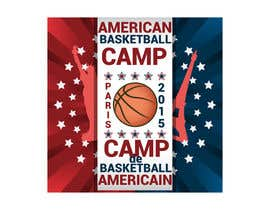 #8 para Design a Logo for Basketball Camp in Paris, France por AdrianCuc