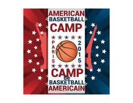 AdrianCuc tarafından Design a Logo for Basketball Camp in Paris, France için no 8