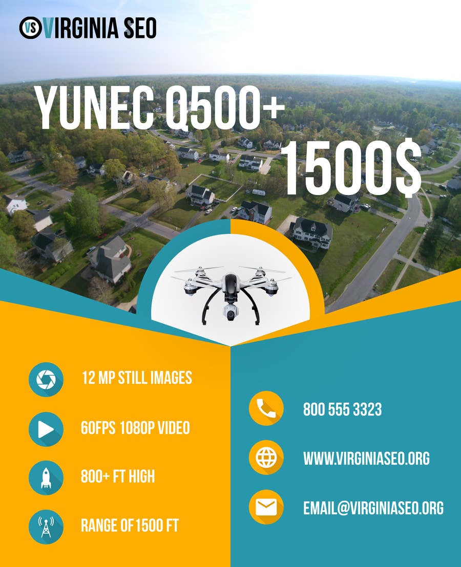 Contest Entry #                                        21                                      for                                         Design an Advertisement for Drone Work