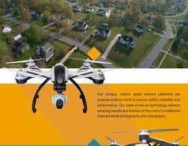 #2 for Design an Advertisement for Drone Work by vitamindesigns