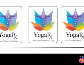 #204 para Logo Design for Yoga Rx por Mako30