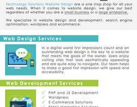#12 for Techsol Brochure by damirruff86