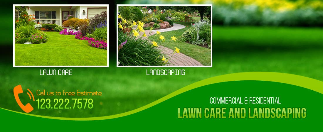 Bài tham dự cuộc thi #4 cho Design a Banner for Lawn Care/ Landscaping