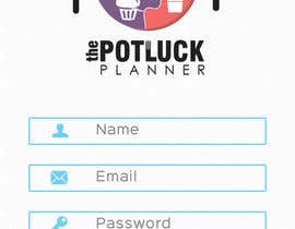 nº 5 pour Design an App Mockup for 'The Potluck Planner' par WeaveOwnWeb