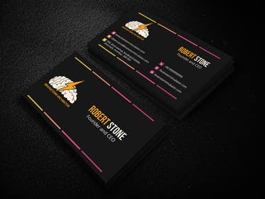 murtalawork tarafından Design some Business Cards for BrainStorm Incubator için no 24