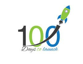 #18 para Logo Design for 100 Days to Launch por swethaparimi