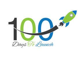 #19 para Logo Design for 100 Days to Launch por swethaparimi